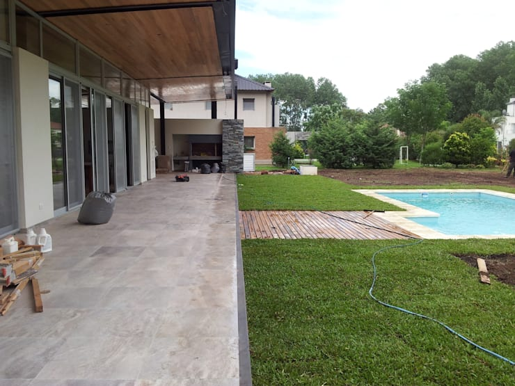 klassischer Garten von Baltera Arquitectura