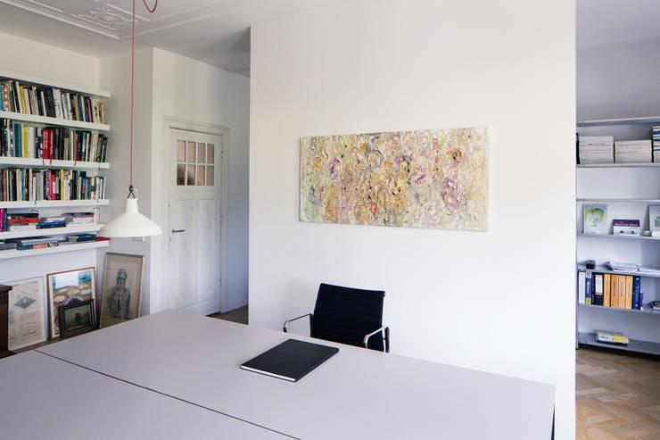 Werkkamer, nieuwe situatie:   door Voorwinde Architecten