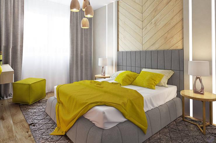 Николо-Прозорово, 365 м²: Спальни в . Автор – Bronx