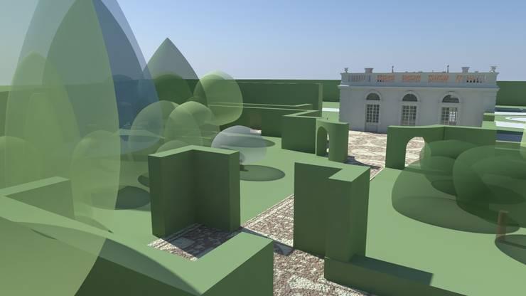 cięte żywopłoty: styl , w kategorii  zaprojektowany przez Autorska Pracownia Architektury Krajobrazu Jardin