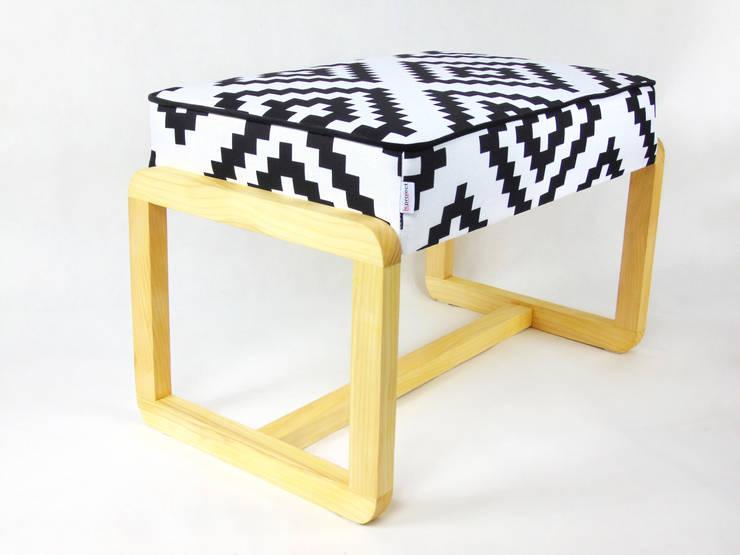 ŁAWKA: styl , w kategorii Salon zaprojektowany przez LandAproject