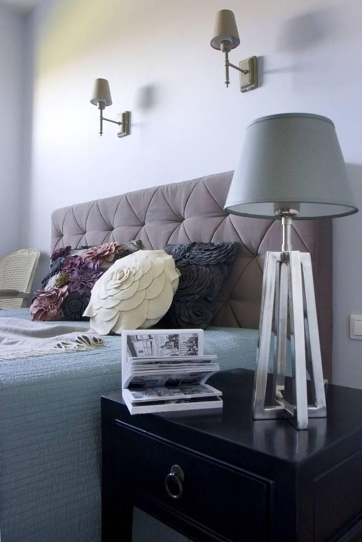Trójmiasto: styl , w kategorii Sypialnia zaprojektowany przez Pracownia Projektowa Hanna Kłyk  ,