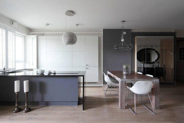 Apartament na Woli: styl , w kategorii  zaprojektowany przez Pracownia Projektowa Hanna Kłyk  ,Eklektyczny