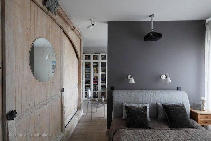 Apartament na Woli: styl , w kategorii Sypialnia zaprojektowany przez Pracownia Projektowa Hanna Kłyk