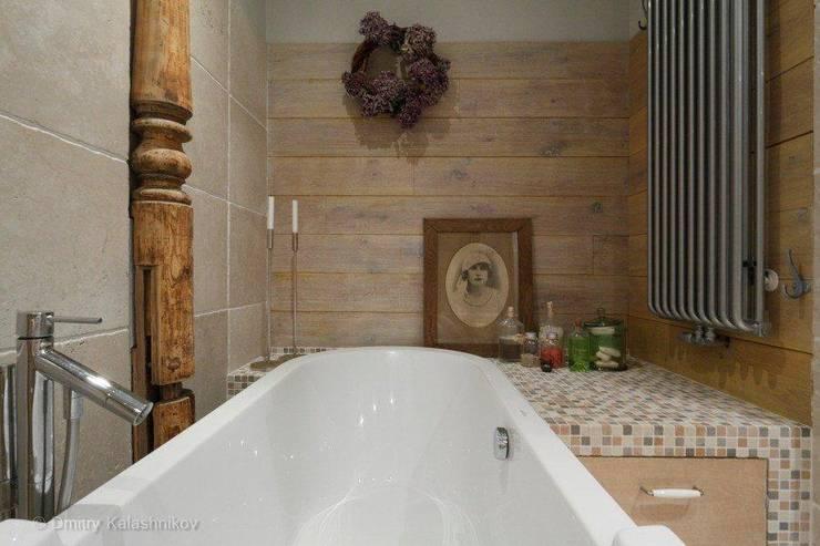 Apartament na Woli: styl , w kategorii Łazienka zaprojektowany przez Pracownia Projektowa Hanna Kłyk
