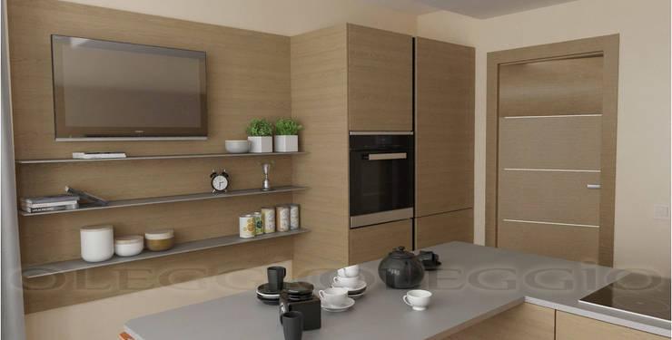 Кухня 13 кв.м.: Кухня в . Автор – Oleggio,