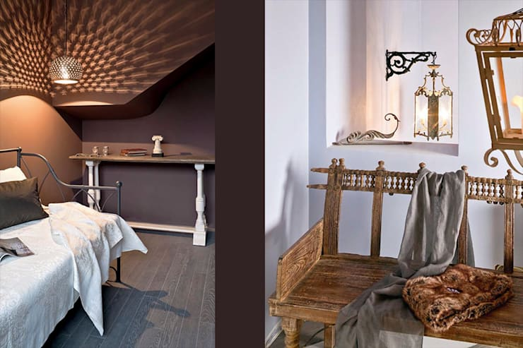 Józefosław: styl , w kategorii Sypialnia zaprojektowany przez Pracownia Projektowa Hanna Kłyk  ,