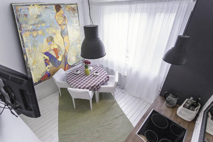 Кухня в скандинавском стиле.:  в . Автор – студия Дизайн Квадрат