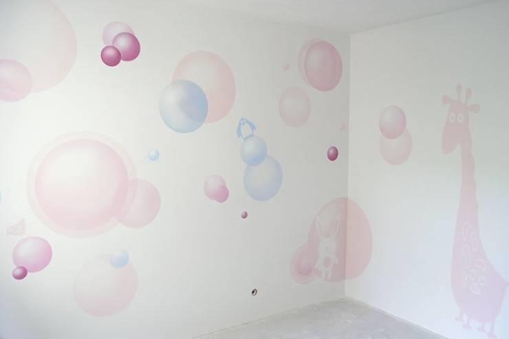 Mural: styl , w kategorii Pokój dziecięcy zaprojektowany przez Pracownia Projektowa Hanna Kłyk