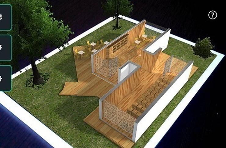 Isometrico de Realidad Aumentada:  de estilo  por City Ink Design