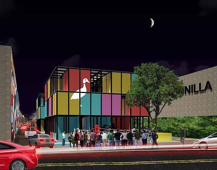 Vida nocturna:  de estilo  por City Ink Design