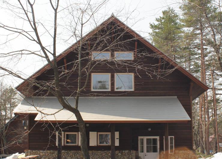 外観: 勝家建築研究室が手掛けた家です。