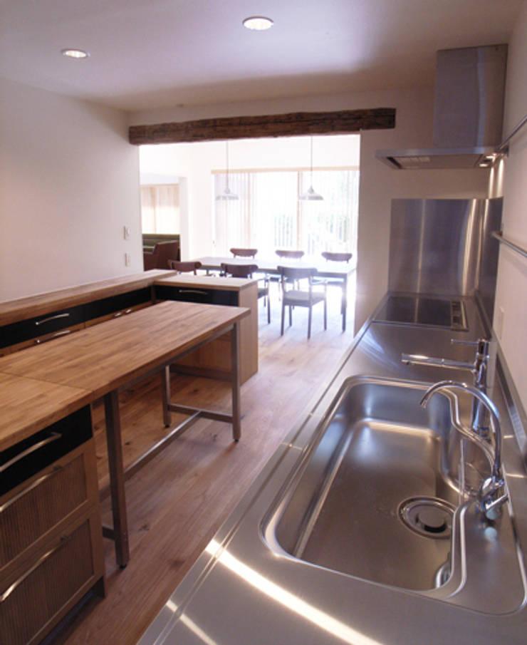UEHARA HOUSE: vibe design inc.が手掛けたキッチンです。