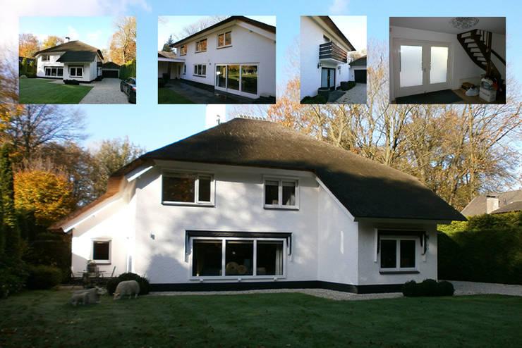 Het bestaande huis voor de restyling: modern  door Lab32 architecten, Modern