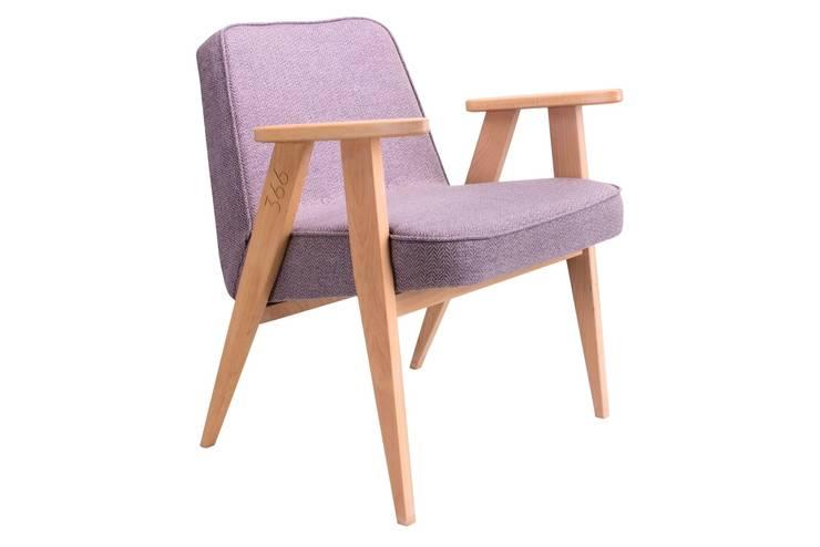366 Chair Happy Hipster Lila: styl , w kategorii Pomieszczenia biurowe i magazynowe zaprojektowany przez 366 Concept Design & Lifestyle