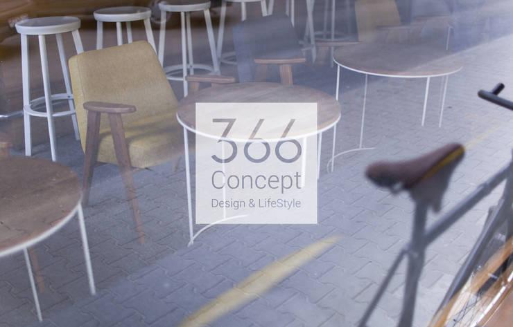366 Concept in a cafe: styl , w kategorii Gastronomia zaprojektowany przez 366 Concept Design & Lifestyle,Nowoczesny