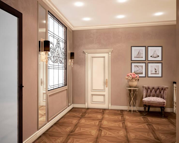 Дом Millennium-park, 420 м²: Коридор и прихожая в . Автор – Bronx,