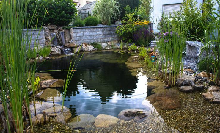 Jardines de estilo moderno por -GardScape- private gardens by Christoph Harreiß