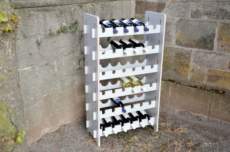Projekty,  Piwnica win zaprojektowane przez das wunschmöbel