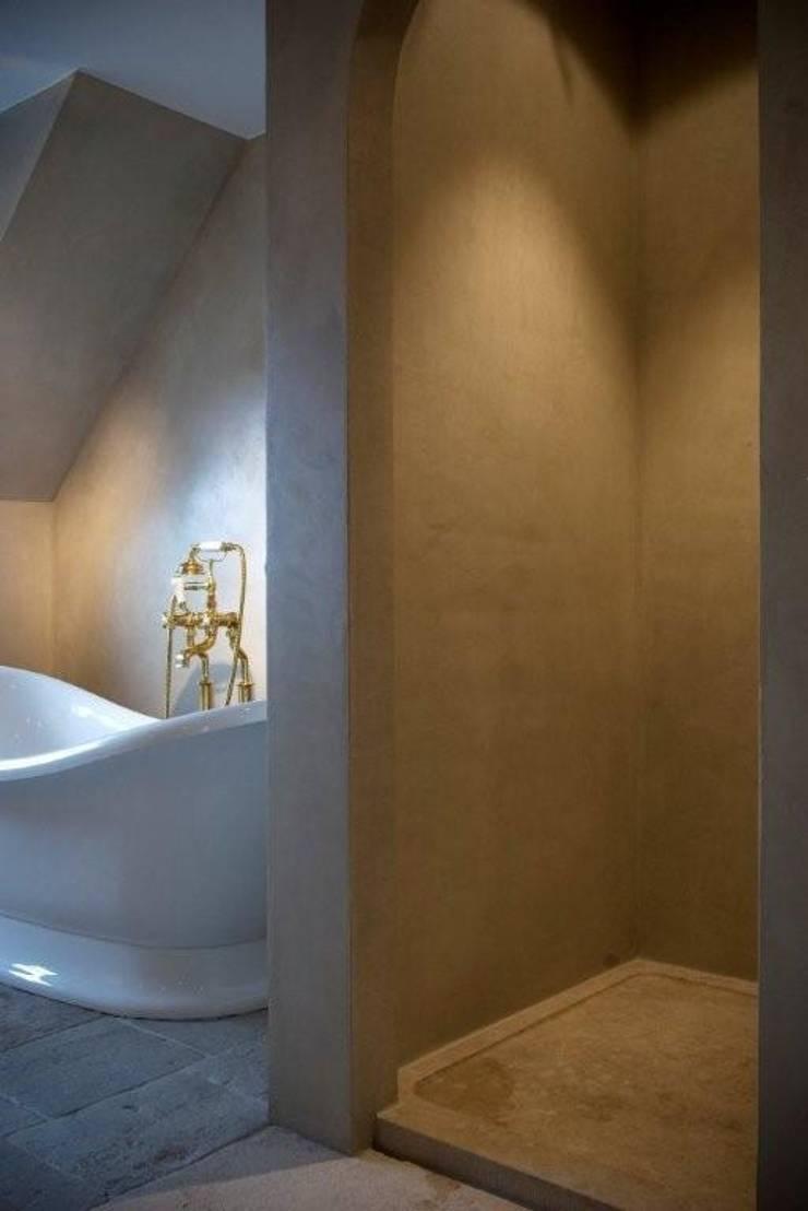 Kraanwerk in messing:  Badkamer door Taps&Baths