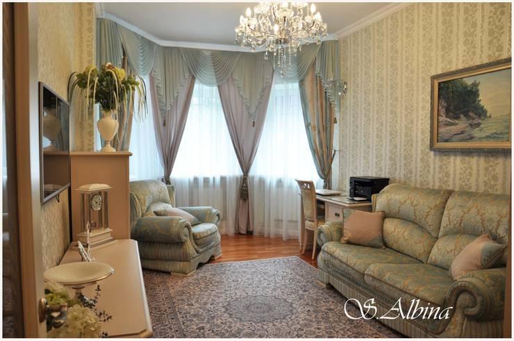 Дизайн проект квартиры по улице Гастелло  (2010-2011г): Рабочие кабинеты в . Автор – студия авторского дизайна  Альбины Сибагатулиной