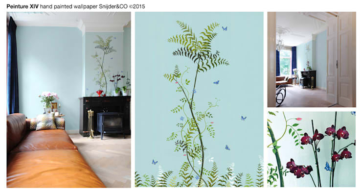 Mantel Wallpaper Peinture XIV:   door Snijder&CO, Klassiek