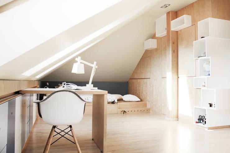 Kinderkamer door COI Pracownia Architektury Wnętrz