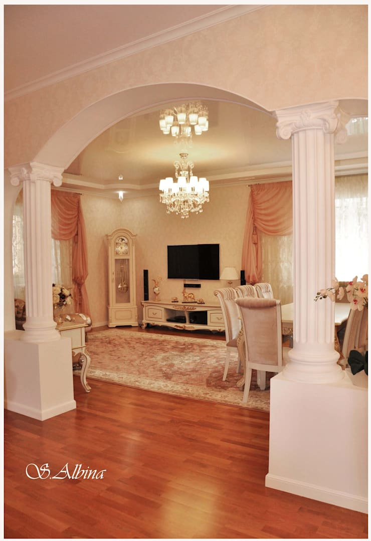 Дизайн проект квартиры по улице Гастелло  (2010-2011г): Коридор и прихожая в . Автор – студия авторского дизайна  Альбины Сибагатулиной