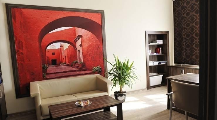 Kancelaria adwokacka - Bielsko-Biała: styl , w kategorii Przestrzenie biurowe i magazynowe zaprojektowany przez Studio Mirago