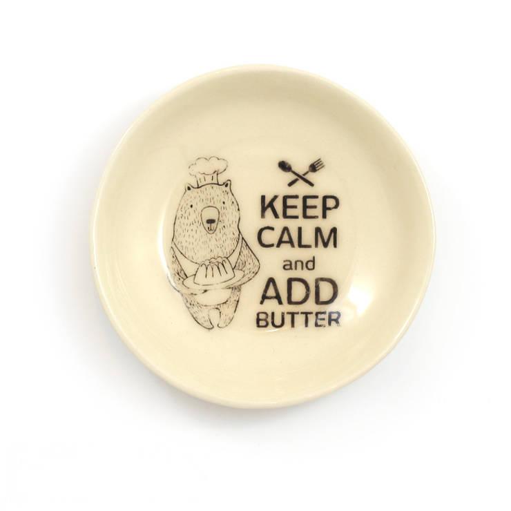 Miseczka -add butter: styl , w kategorii Kuchnia zaprojektowany przez Cynamon Studio