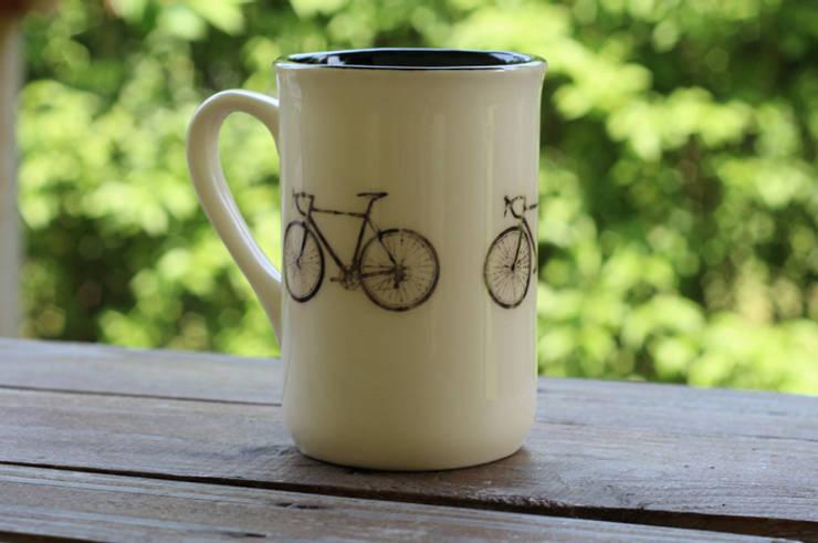 kubek rowerowy: styl , w kategorii Kuchnia zaprojektowany przez Cynamon Studio