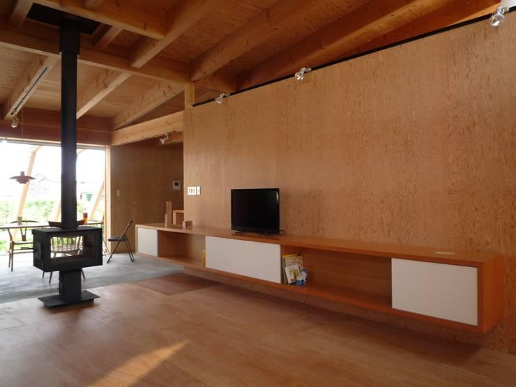 リビング|mat house: KAZ建築研究室が手掛けたリビングです。