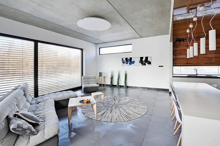 Meble: styl , w kategorii Salon zaprojektowany przez Kapix