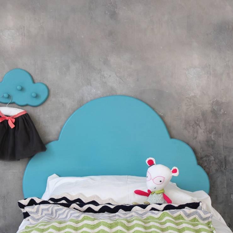 Изголовье облако. Фронтальный вид: Детская комната в . Автор – Buga