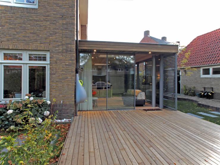 De tuinkamer: moderne Serre door Roorda Architectural Studio