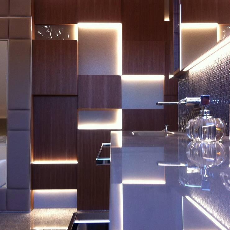 rezydencja Gdańsk : styl , w kategorii Łazienka zaprojektowany przez TG STUDIO,