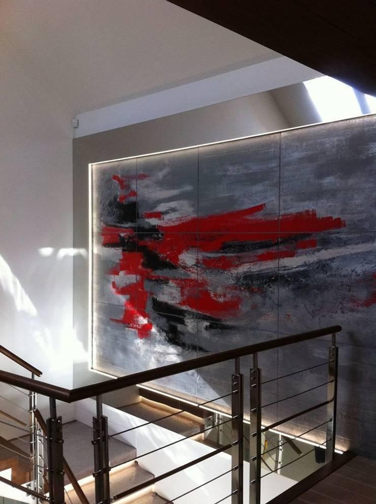 rezydencja Gdańsk : styl , w kategorii Ściany zaprojektowany przez TG STUDIO