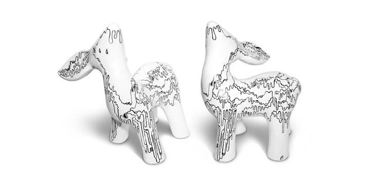 My Dear Deer Friend - Liquid: styl , w kategorii Sztuka zaprojektowany przez Diploo Studio