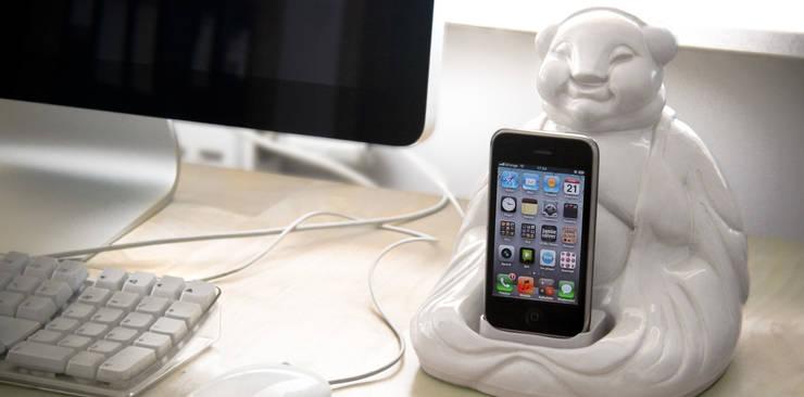 Boodha USB dock: styl , w kategorii  zaprojektowany przez Diploo Studio,Nowoczesny