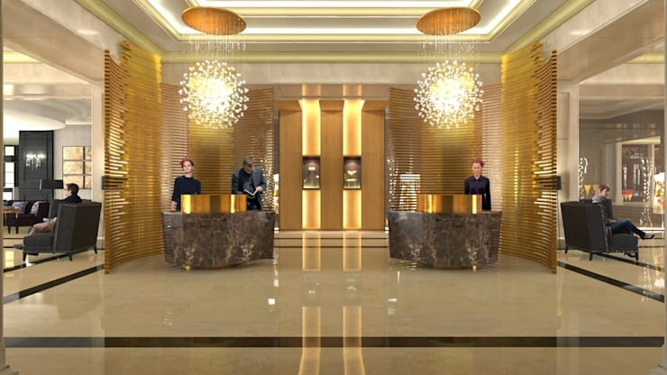 The Ritz Carlton - Istambul: Hoteles de estilo  por Andres Ramallo ,