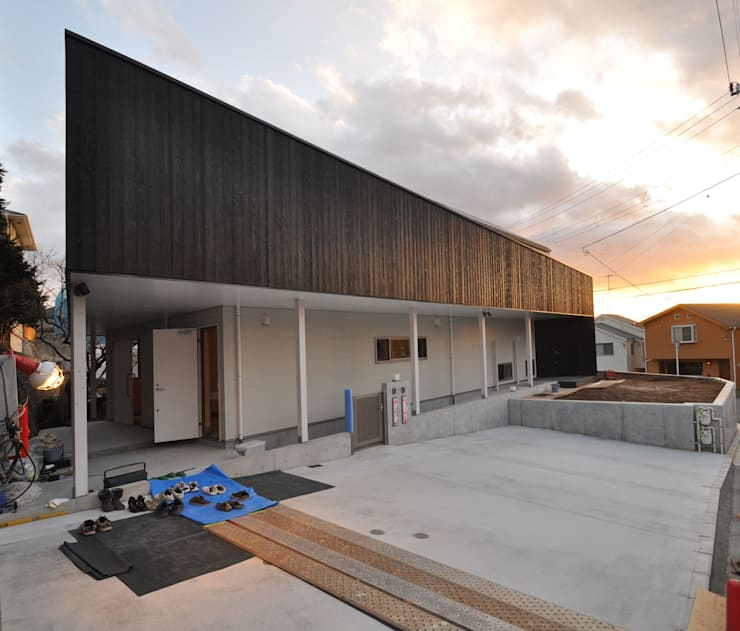 外観: 清正崇建築設計スタジオが手掛けた家です。