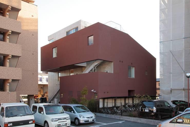 外観: 清正崇建築設計スタジオが手掛けた医療機関です。