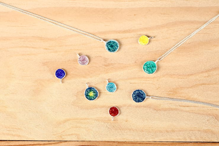 아름다운 칠보 목걸이들: ODDBLANC의  방
