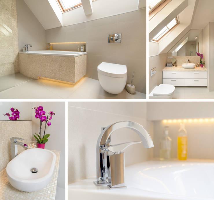 Ванные комнаты в . Автор – PR Architects Sp z o. o. Pala&Rodek