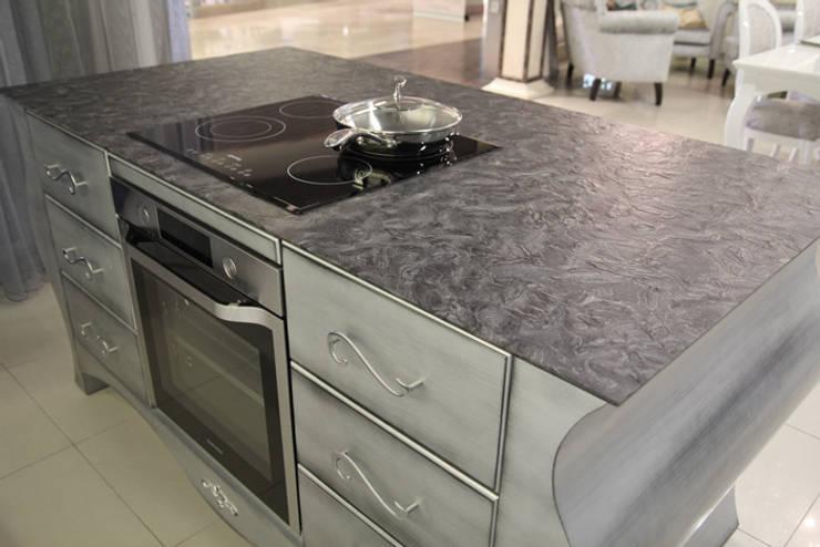 Matrix naturalny granit na blat kuchenny : styl , w kategorii Kuchnia zaprojektowany przez GRANMAR Borowa Góra - granit, marmur, konglomerat kwarcowy,Klasyczny
