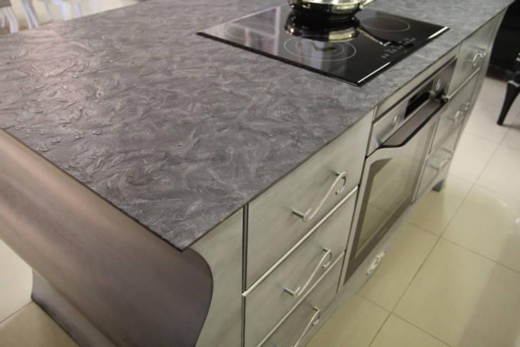 Granit Matrix, naturalny kamień do kuchni: styl , w kategorii Kuchnia zaprojektowany przez GRANMAR Borowa Góra - granit, marmur, konglomerat kwarcowy,Klasyczny
