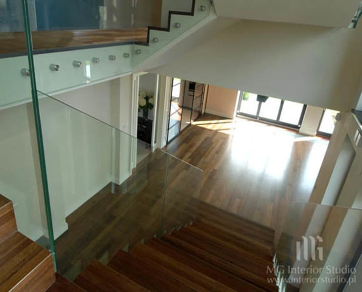 Dom: styl , w kategorii Domy zaprojektowany przez MG Interior Studio Michał Głuszak