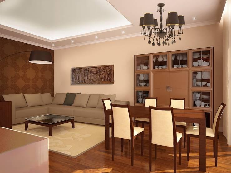 Living room by ООО 'Студио-ТА', Classic