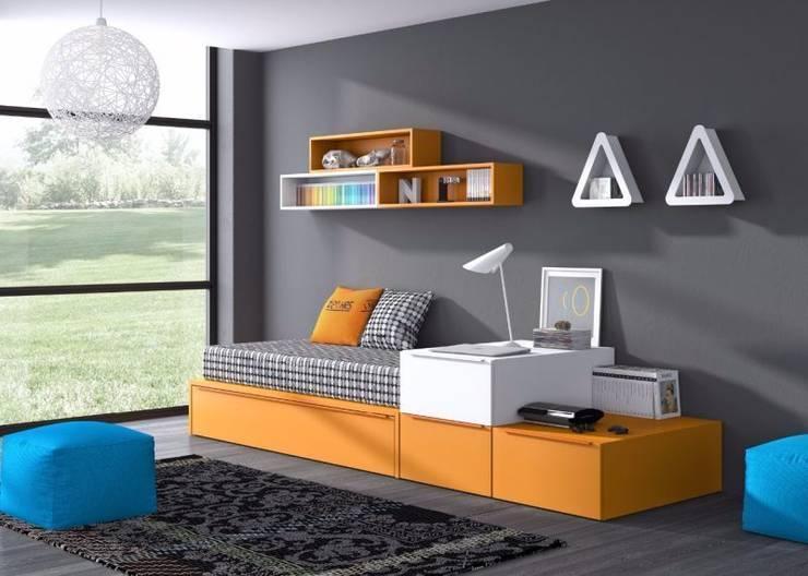 Habitación juvenil: Habitaciones infantiles de estilo  de Avant Haus
