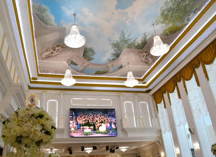 Фреска на потолке. Дизайн:  в . Автор – InsaitDesign